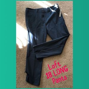 Loft 18 TALL Marissa Skinny pants NAVY